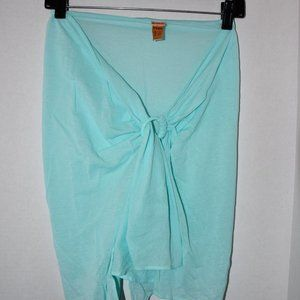 Eres  Swim Sarong  in  Mint  One Size  Excellent C
